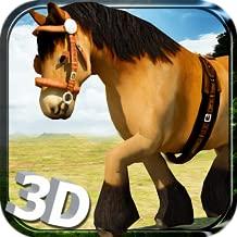 Wild Horse Simulator 3D Run - Free Horse Riding, Endless Running, Jumping & Jungle Simulation Game