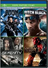 Doom / Pitch Black / Serenity / Hellboy II: The Golden Army Four Feature Films