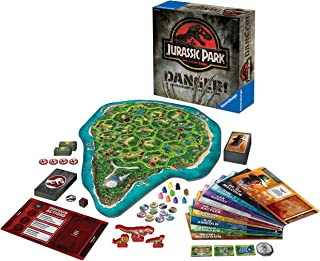 Ravensburger Jurassic Park Danger! Adventure Strategy Board Game for Kids & Adults Age 10 Years Up - Family Games
