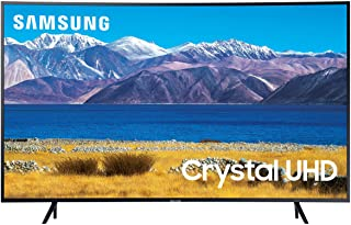 SAMSUNG 65-inch Class Curved UHD TU-8300 Series - 4K UHD HDR Smart TV With Alexa Built-in (UN65TU8300FXZA, 2020 Model)