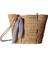 Brunch Bag w/ Tie Knot Trim