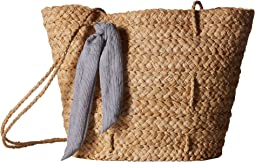 Brunch Bag w/ Tie Knot Trim