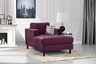 Amazon Com Purple Living Room Furniture Furniture Home Kitchen