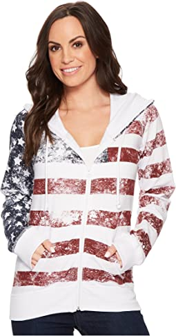 Rock and Roll Cowgirl - Long Sleeve Zip Hoodie 48Z4382