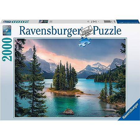 Ravensburger- Puzzle 2000 pièces-Île de l'esprit, Canada Adulte, 4005556167142