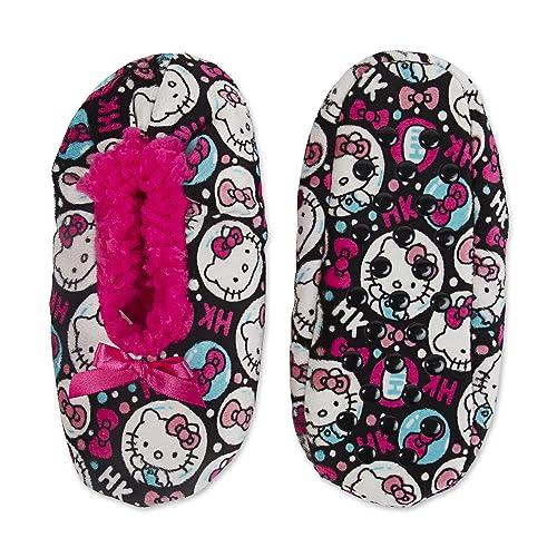 be14312c98da Girl Silky Suede Babba Slippers Socks