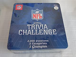 NFL Gridiron Trivia Challenge Game Tin