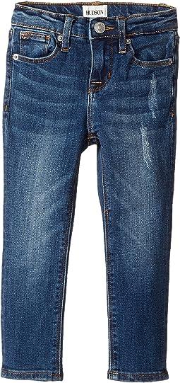 Hudson Kids - Christa Five-Pocket Skinny Jeans in Depth Charge (Toddler/Little Kids)