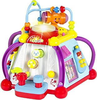 Liberty Imports 15-in-1 Musical Activity Cube Educational Game Play Center Baby Toddler Toy with Lights and Sounds for Ear...