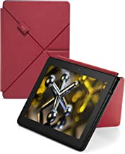 Leather Origami Case for Fire HDX 8.9 (4th Generation), Red