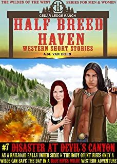 Half Breed Haven #7 Disaster at Devil's Canyon: A Blue River Wilde Western Adventure (The WIldes of the West) (English Edition)