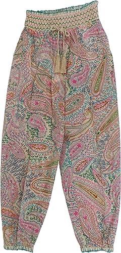 Twin-Set Fille 191GJ251103421 Blanc Viscose Pantalon