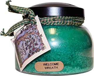 A Cheerful Giver Welcome Wreath Mama Jar Candle, 22-Ounce