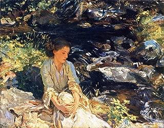 John Singer Sargent The Black Brook ~ The Brook Tate Britain - London 30