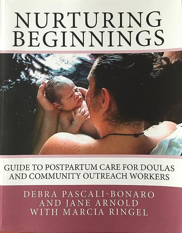 メアリアンジョーンズ提供砂利Nurturing Beginnings: Guide to Postpartum Care for Doulas and Community Outreach Workers (English Edition)