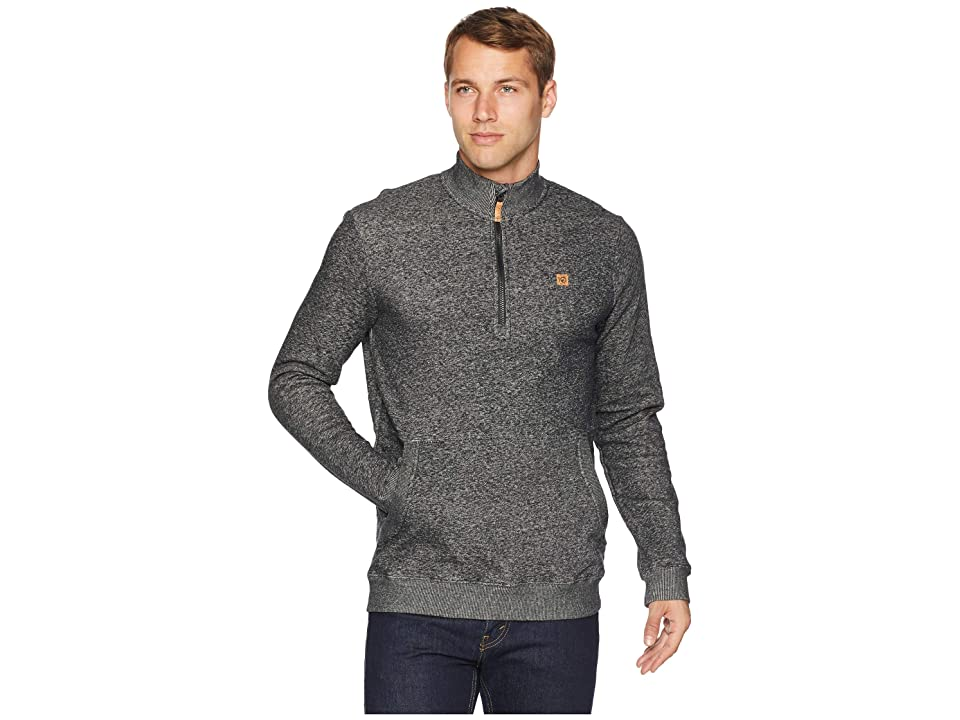 tentree Durango 1/2 Zip (Meteorite) Men
