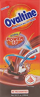 POKKA Ovaltine Malted Chocolate Drink, 236 ml (Pack of 24)