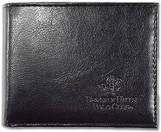 Beverly Hills Polo Club Bi-Fold Wallet 64 Grain Color Black by Aquarius LTD C-W0175