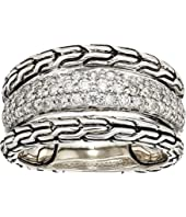 John Hardy - Classic Chain Diamond Pave Ring