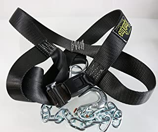 Spud Inc Adjustable Front Squat Harness - Use on Belt Squat Machine Or Low Econo Pulley