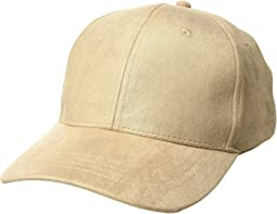 Collection XIIX - Metallic Suede Baseball Hat