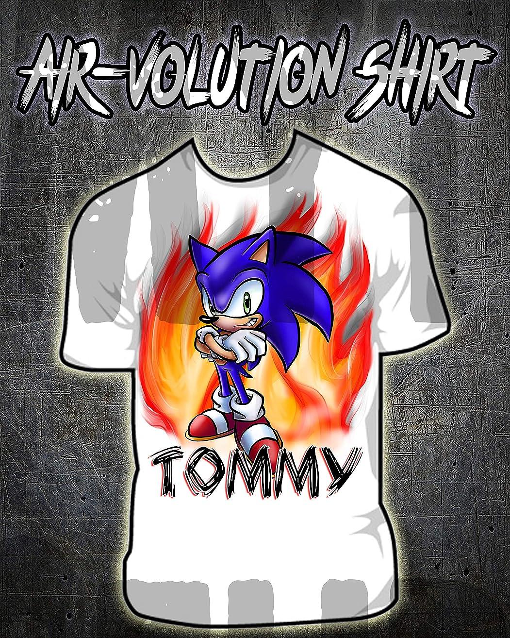Personalized Airbrush Sonic Boom Shirt