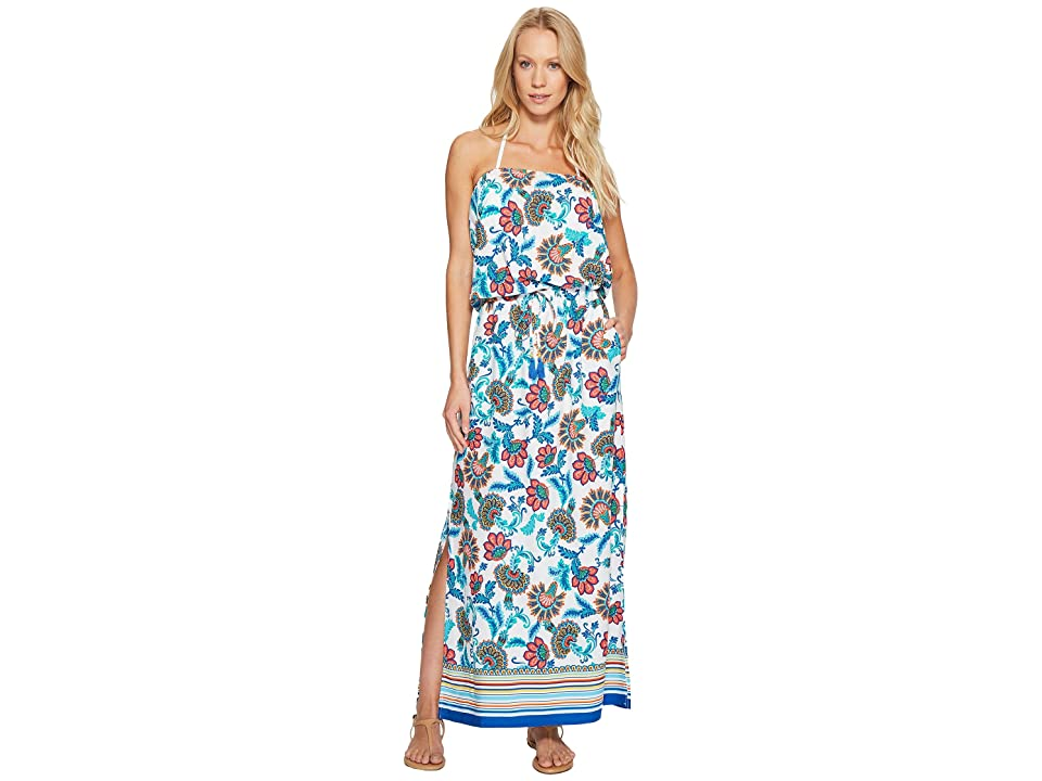 Tommy Bahama Fira Floral Maxi Dress Cover-Up (White) Women