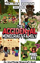 The Accidental Minecraft Family: MegaBlock 2 Edition (Books 5-8) (The Accidental Minecraft Family Megablock)