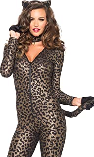 Women's 3 Piece Sex Kitten Cat Suit Costume