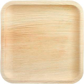 The Good Plate - Platos cuadrados de hoja de palma de Areca