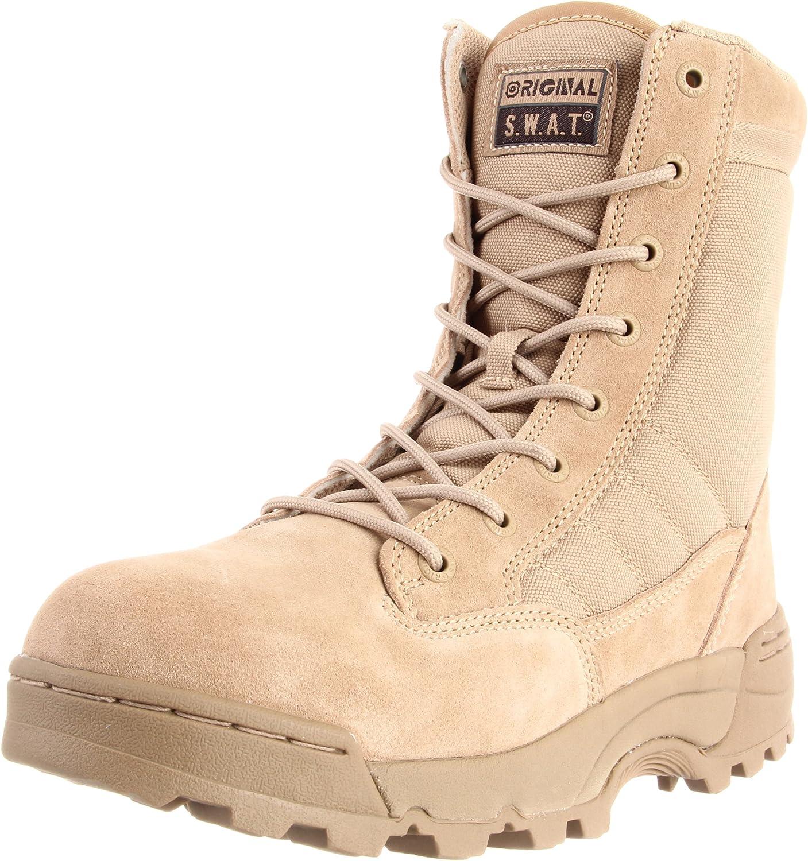 Original SWAT 115002 Men's Classic 9-in Sale item Tactical 12 Max 86% OFF Tan U Boot M