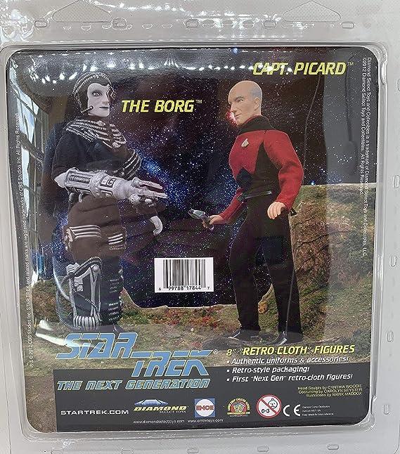 "Star Trek  NEW Gift Next Gen Luc Picard  8/"" 19cm Action Figure Details about  /Official Jean"
