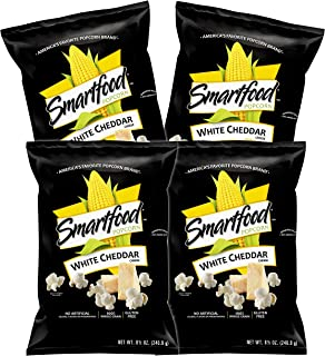 Smartfood White Cheddar Flavored Popcorn, 8.5 Ounce (Pack of 4)