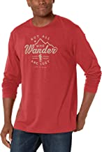 Life is Good Mens Cool Cotton Blend Graphic Longsleeve T-Shirt