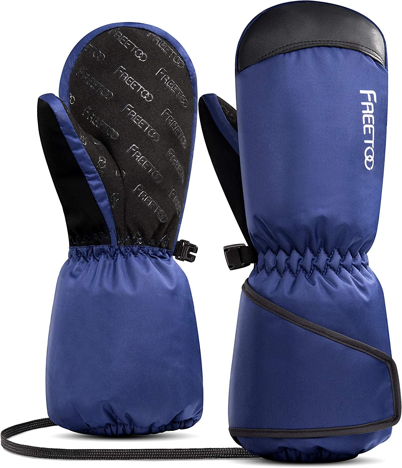 Be super welcome FREETOO Inventory cleanup selling sale Kids Ski Gloves Boys Waterproof W Snow with Girls