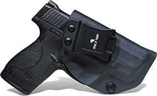 Hide It Deep IWB KYDEX Holster Fits: Smith & Wesson M&P Shield & Shield 2.0-9MM/.40 S&W - Concealed Carry Holster