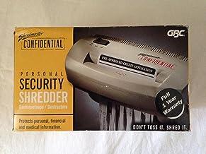 GBC Shredmaster Confidential Shredder