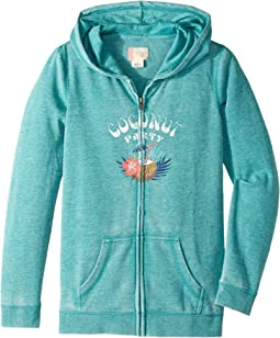 Roxy Kids - Be the Overflow Coconut Party Hoodie (Big Kids)