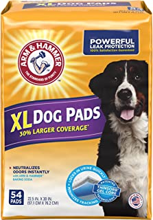 Arm & Hammer 54 Count Puppy Training Pads with Baking...