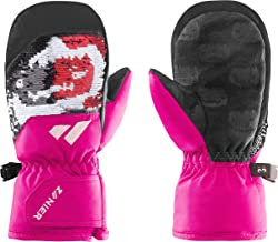 Zanier Unisex Jeugd 12030-6720-1 handschoenen, fuchsia, zwart, 1