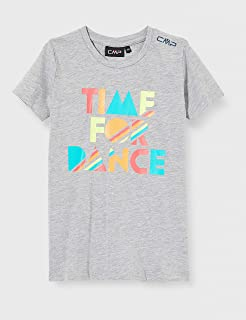 CMP Girls' T-Shirt 30D8335M, Grigio Mel