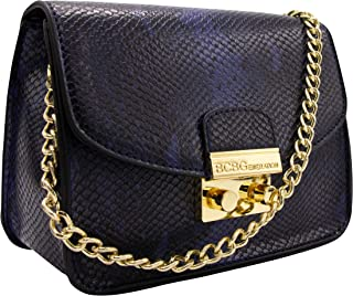BCBGeneration Milly Small Crossbody Handbag for Women – Evening Bag, Purse with Chain Strap by BCBG