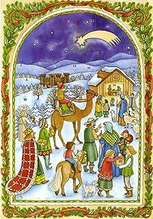Autocollant de Fen/être Rosary Heaven Sainte Famille Nativit/é Ensemble Ornement Baby J/ésus 13cm Figurine