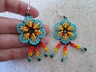 Best huichol flower earrings Reviews