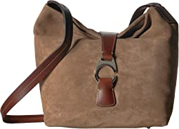 Derby Suede Crossbody Hobo