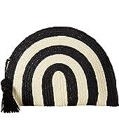 BSB1723 Wheatstraw Clutch Stripe with Tassel
