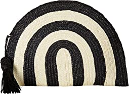 BSB1723 Wheatstraw Clutch Stripe with Tassel