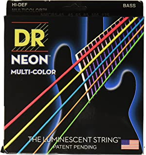 DR Strings HI-DEF NEON Bass Guitar Strings (NMCB5-45)