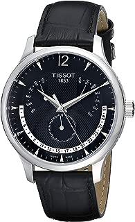 Tissot Men's T063.637.16.057.00 Black Dial Watch