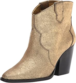 Chinese Laundry Women's Bonnie Ankle Boot, Gold, 9.5